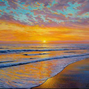 Mediterranean Sunset II